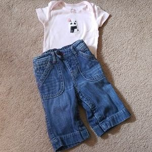 Baby girl outfit 3-6 months